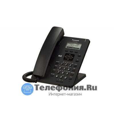 Panasonic KX-HDV100RUB проводной SIP-телефон (блок питания в комплекте)