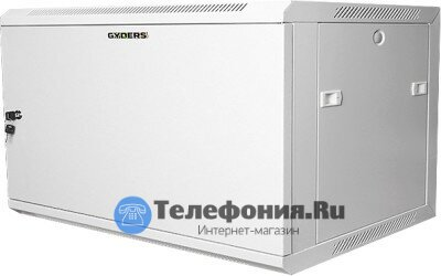 Шкаф 19 9U 600х600х501 мм GYDERS GDR-96060GM